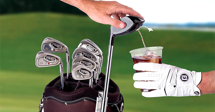 6) Drink Dispensing Driver  That's  golf driver we&rsq
