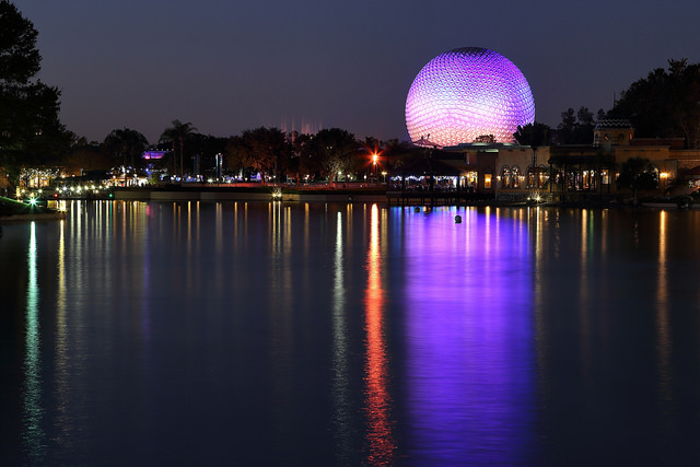Photo via Flickr User Luis Brizzante EPCOT Epcot World