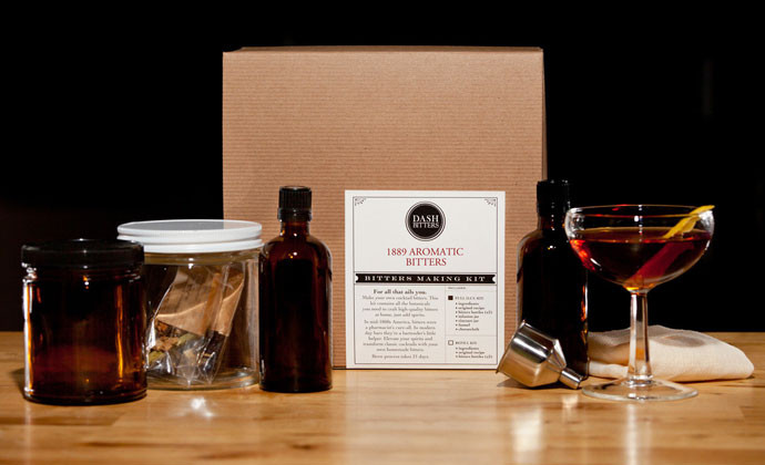 19. Build-Your-Own Bitters Kit Dash Bitters offers DIY