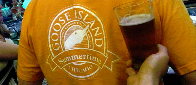 Goose Island Summertime   Chicago, IL This   summer seasonal