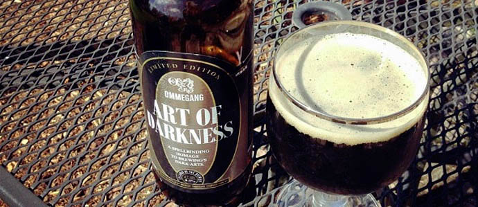 Ommegang Art of Darkness   Cooperstown, NY The brewery that