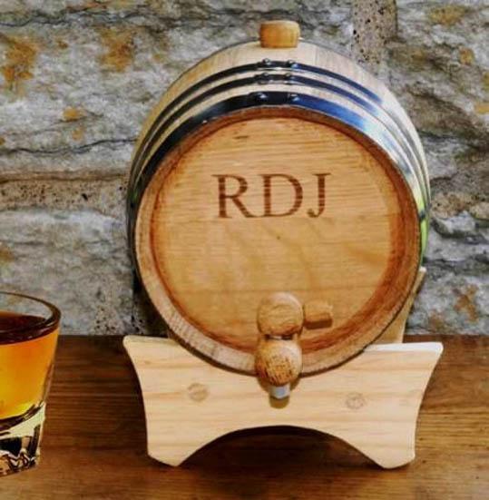 02)Oak Whiskey BarrelShould the rising cost of q