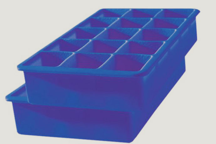 20. Perfect Cube Ice Trays A good bartender knows that