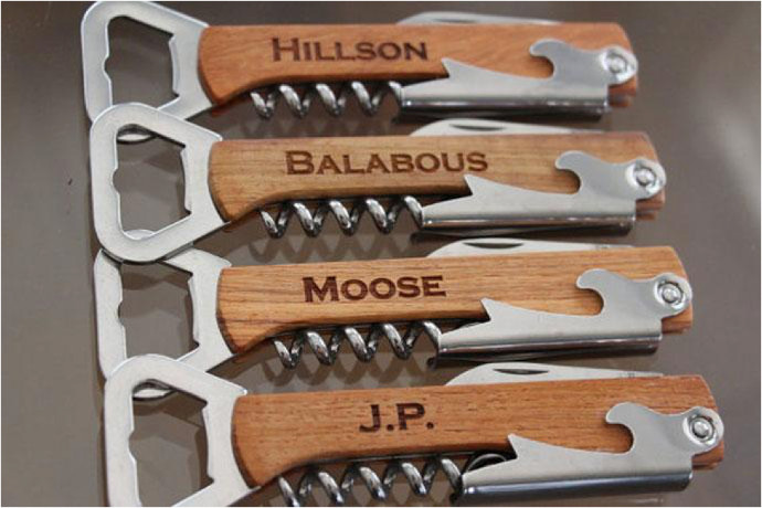 12. EverythingDecorated Personalized Bottle Openers Thi