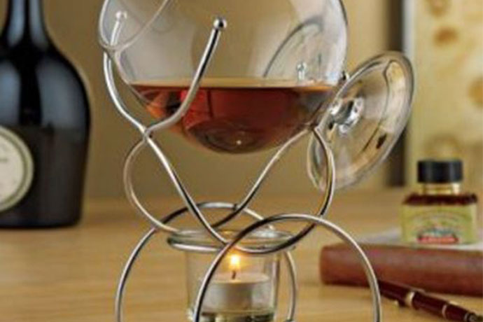 6.Brandy Warmer, $29.95  Open flames and alcohol. Alwa