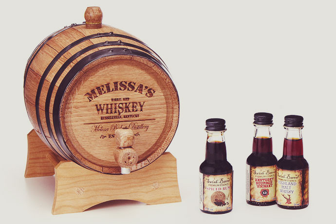 5. Personalized Whiskey Barrel The perfect gift for the