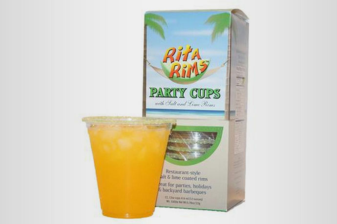 11.Rita Rims Party Cups, $25.99-$49.99 Pre-salted or -