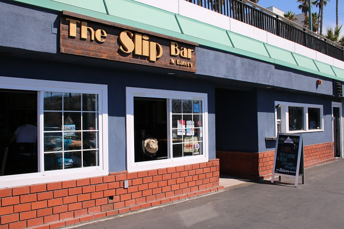 The Slip Bar & Eatery Just down the way from King Harbor