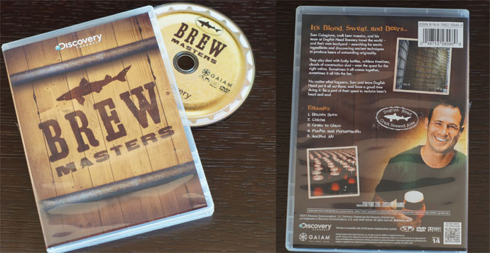13. Brewmasters DVD Set Sam Calagione, the craft beer g