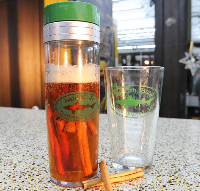 17.Mini-Enamel Animal Beer Infuser This crazy contrapt