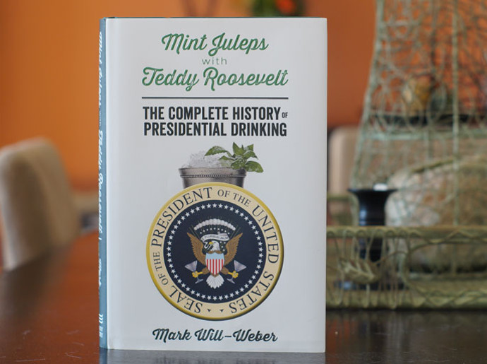 4. Boozy Books: -Teddy Roosevelt and Mint Juleps, the Comple