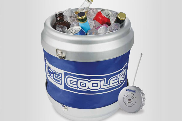 18.Remote-Controlled Cooler, $69.95 Why get up from th