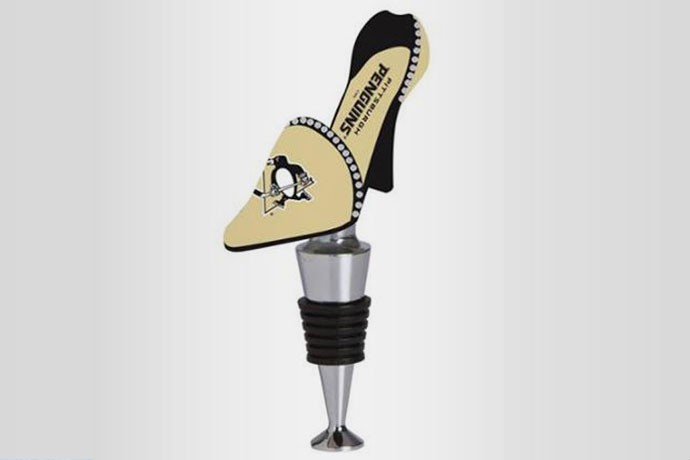 19.NHL Wine Shoe Bottle Stopper, $22.99 If you haven&r