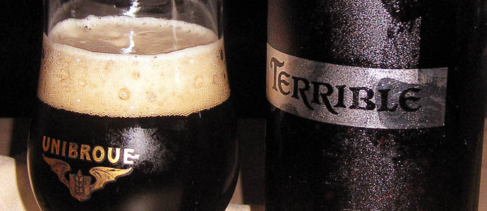 Beer Review: Unibroue Terrible