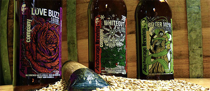 Beer Review: Anchorage Brewing Love Buzz & Whiteout