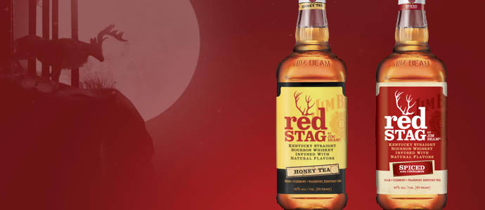 Red Stag Honey Tea Drinks