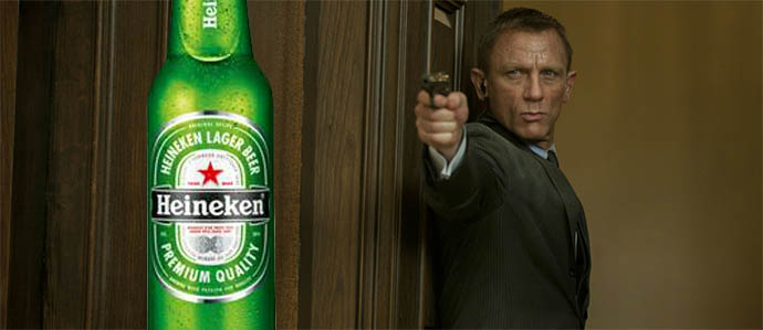 James Bond Swaps Martinis for Heinekens - POLL