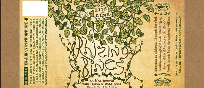 Dogfish Head & Sierra Nevada Team Up to Brew Rhizing Bines IPA