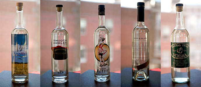 Craft Vodka Showdown: Taste Testing Five East Coast Vodkas