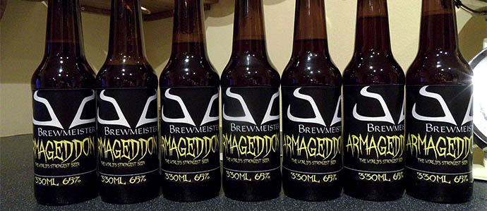 Scotland's Brewmeister Introduces Armageddon, World's Strongest Beer