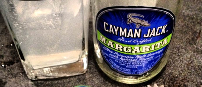 Cayman Jack Margarita Easy Tropical Refreshment In A