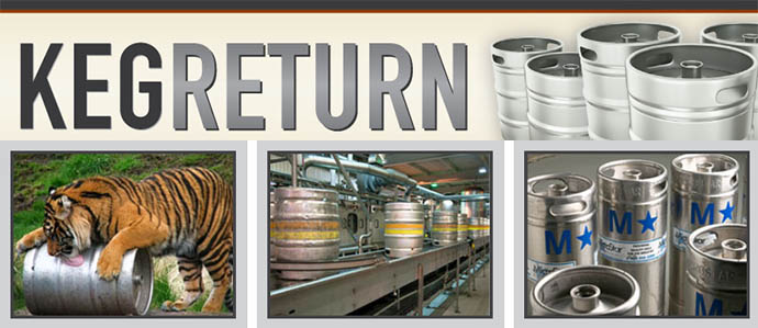 Help Lost Kegs Find Their Way Home With KegReturn.com