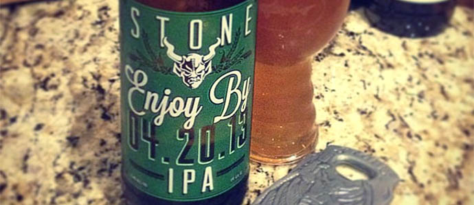 Beer Review: Stone Enjoy By IPA