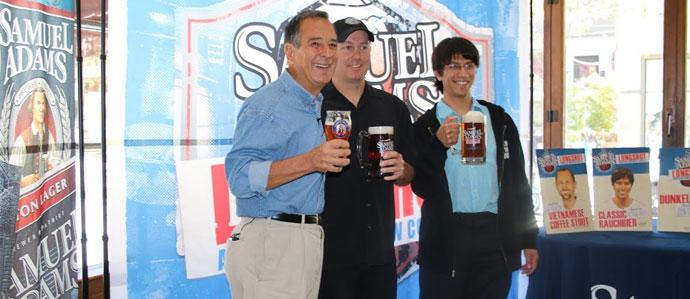 Samuel Adams' Jim Koch Announces Homebrew Longshot Winners at GABF