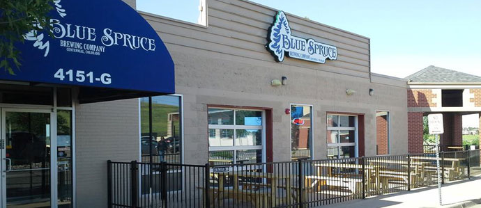 Feeling Anything But Blue at Blue Spruce Brewing Company