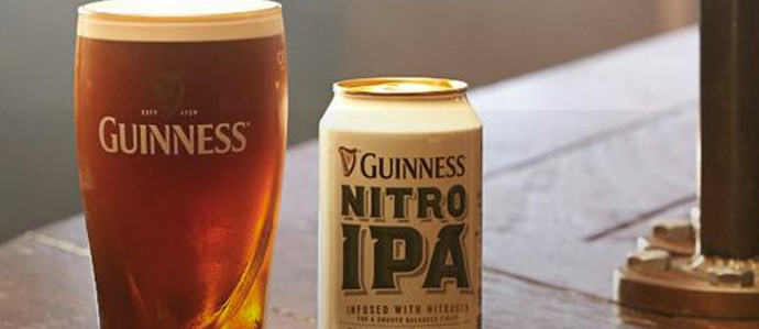 Guinness Unveils New Nitrogen-Infused IPA