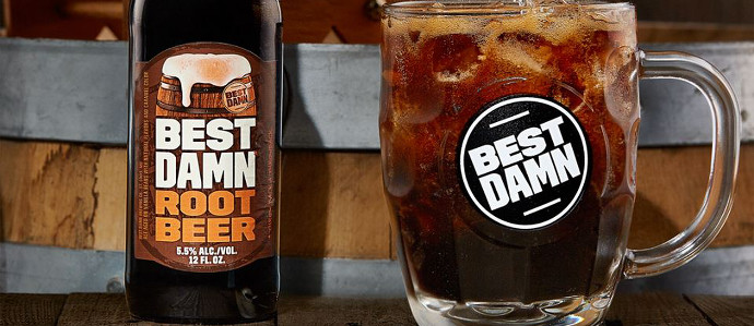 Anheuser-Busch Looks to Compete in the Hard Soda Market With Debut of Best Damn Root Beer