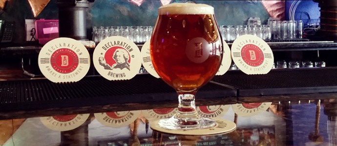 Life, Liberty and the Pursuit of Hoppiness at Declaration Brewing Company