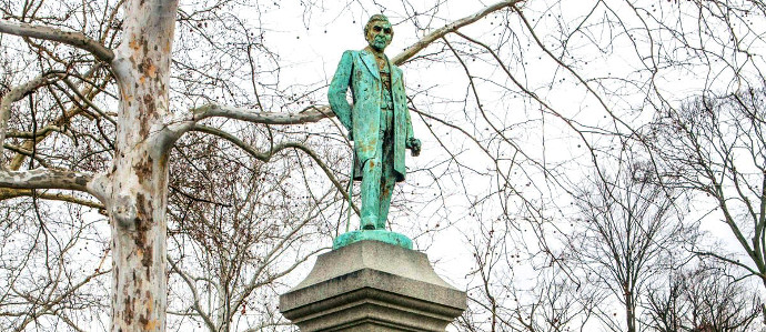 The Brewer's Association Is Helping to Restore an Important Historic Statue in Reading, PA