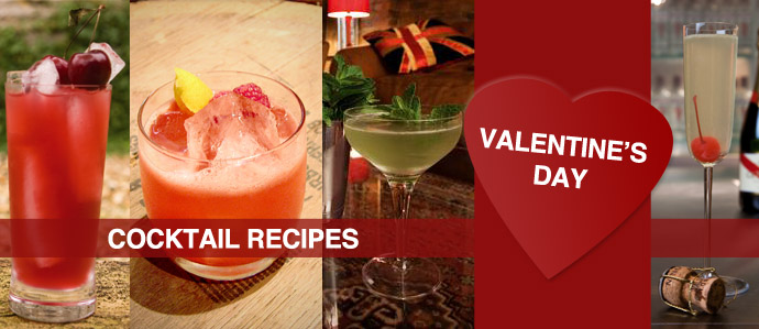 Cocktail Valentines