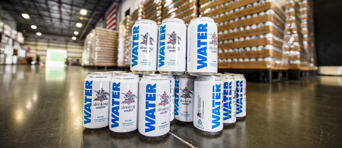 Anheuser-Busch Shuts Down Beer Production & Gives Away Water for Houston Hurricane Relief Efforts