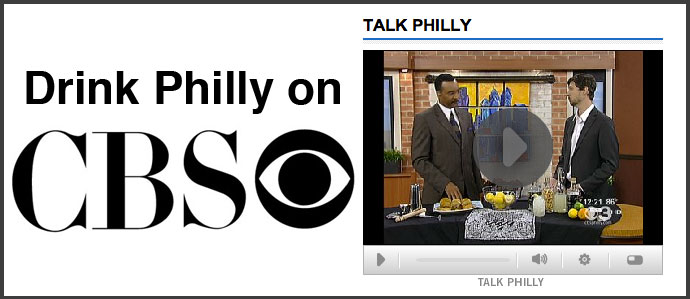 Drink Philly on CBS Talk Philly: Lemonade Moonshine Margaritas