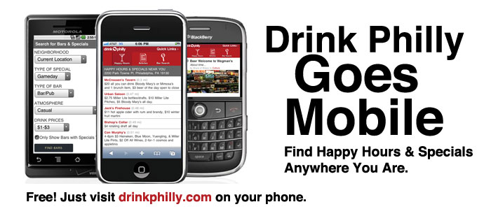Drink Philly Goes Mobile!