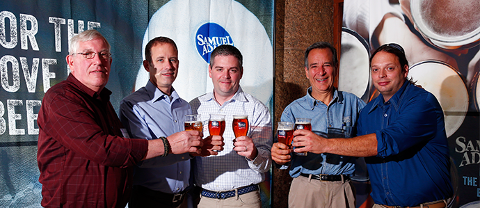Jim Koch Announces the Samuel Adams LongShot Winner at GABF