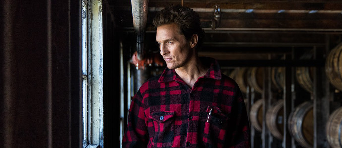 Matthew McConaughey's Newest Role Is With Wild Turkey