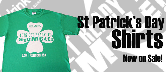 St Patrick's Day Shirts Now On Sale!
